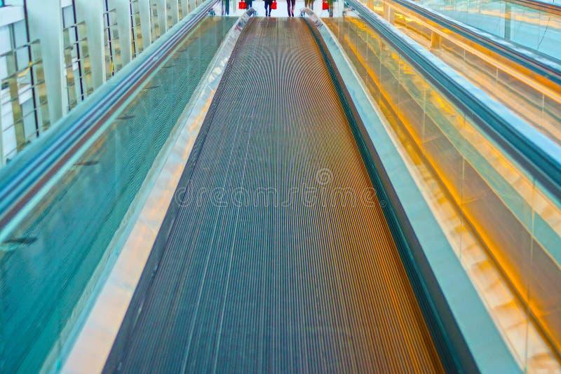 Bewegliches Gehwegbild lizenzfreies stockfoto