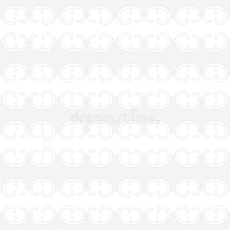Bewegt nahtloses Muster der geometrischen Beschaffenheit wellenartig stock abbildung