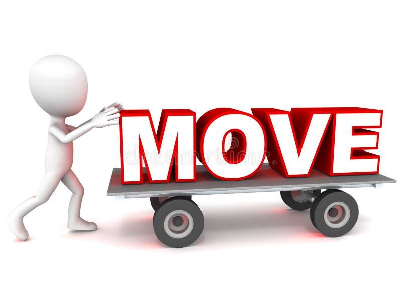 bewegung stock abbildung