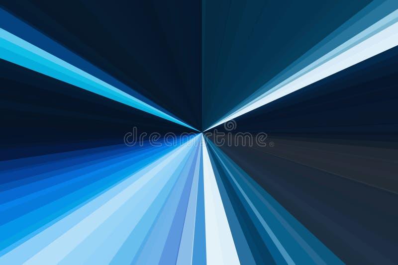Bewegung der Autolichtstadtbild-Skylinedämmerung im drastischen Ton Auszug rays Hintergrund Buntes Streifenstrahlnmuster Stylis lizenzfreie abbildung