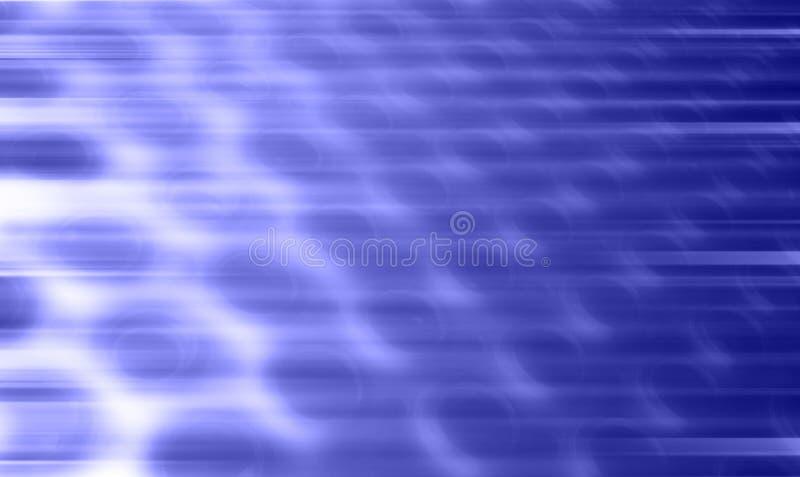 Bewegungs-Löcher stock abbildung