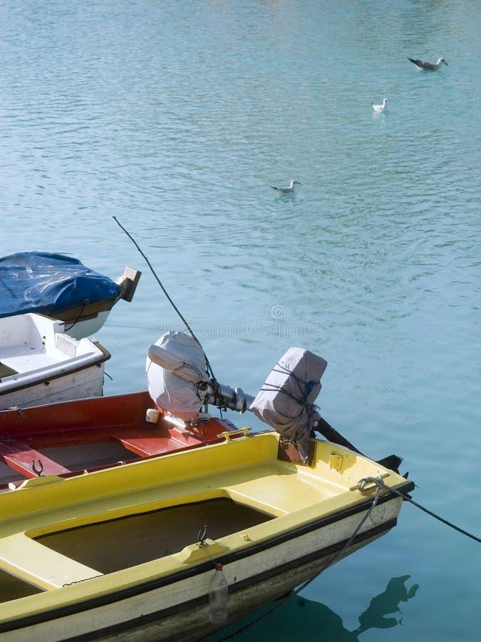Bewegungsboote stockbilder