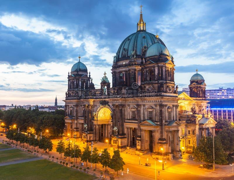 Bewohner von Berlin Dom, Berlin Cathedral, Deutschland lizenzfreies stockfoto