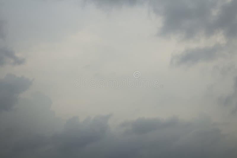 Bewolkte hemel stock foto