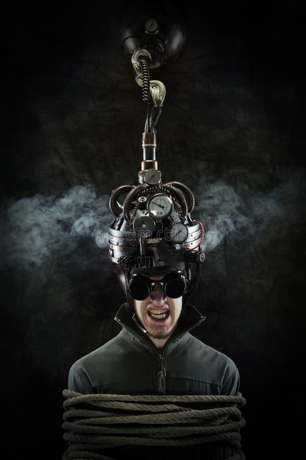 Bewusstseinskontrolle lizenzfreies stockfoto