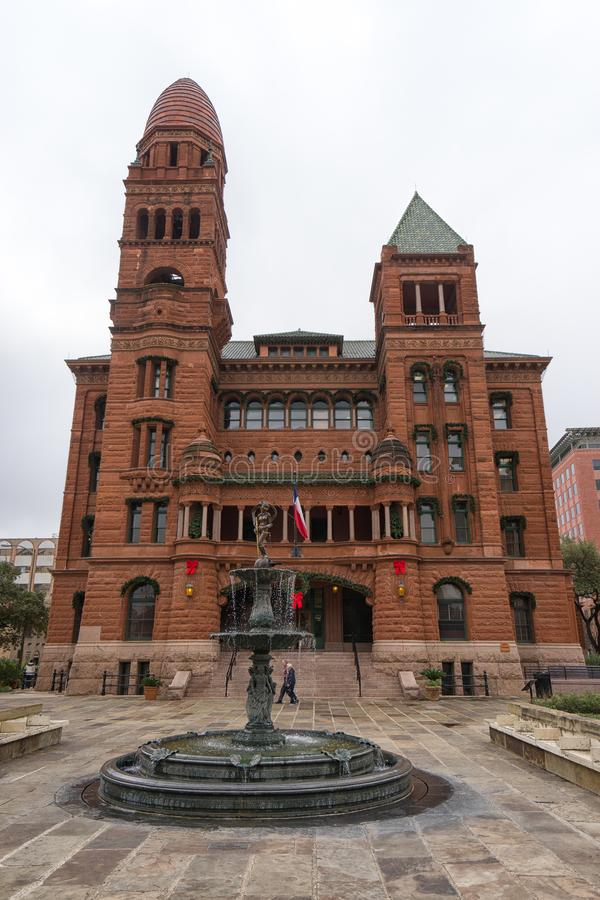 Bexar okręgu administracyjnego gmach sądu San Antonio Teksas obrazy stock