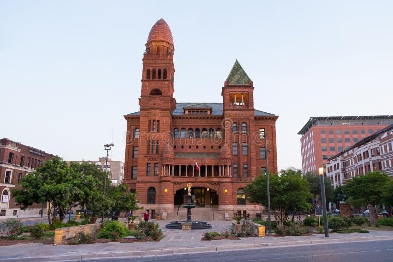 Bexar okręgu administracyjnego gmach sądu San Antonio Teksas zdjęcia stock