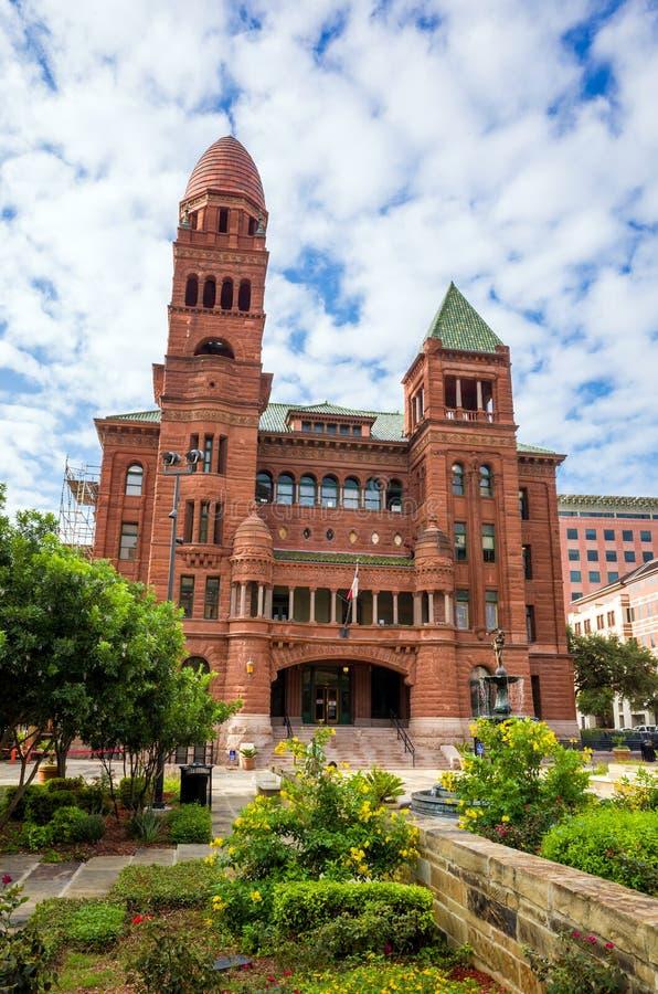 Bexar okręgu administracyjnego sąd rejonowy, sąd okręgowy w San Antonio obrazy stock