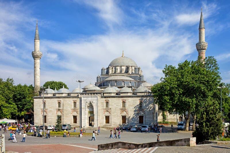 Beyazit Mosque e quadrato a Costantinopoli immagini stock
