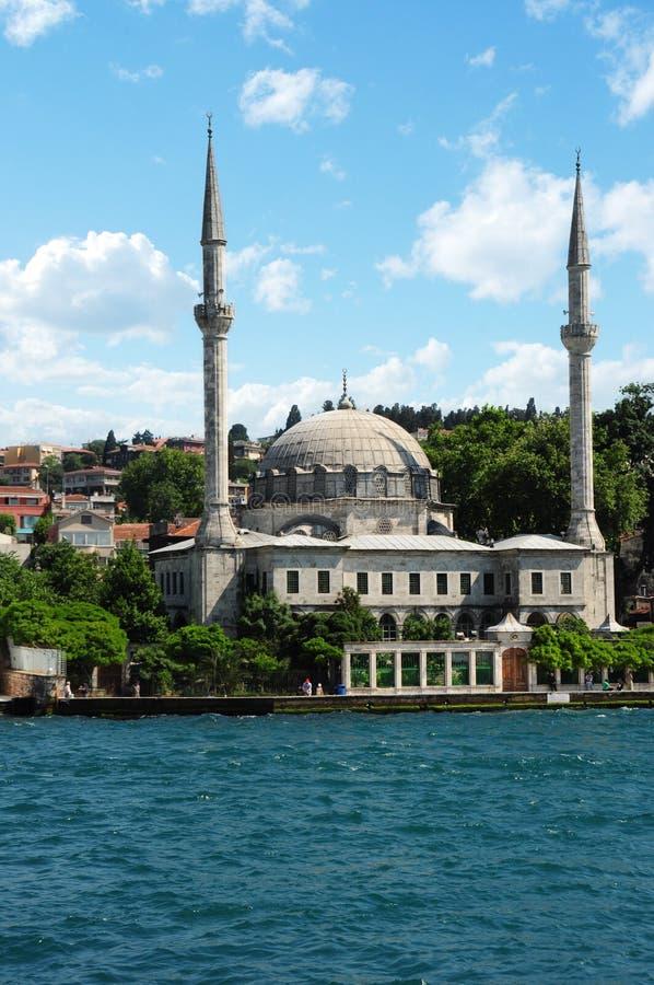 beylerbeyi Istanbul meczetu indyk obrazy royalty free