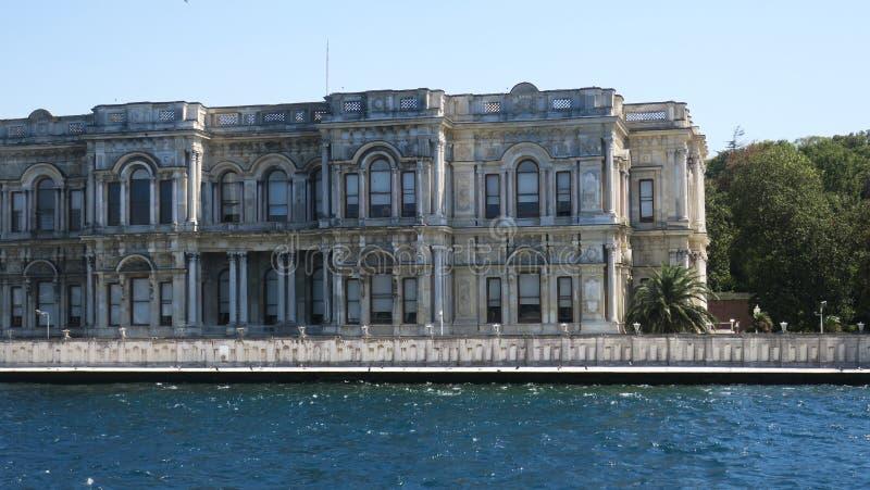 Beylerbeyi pałac, Istanbuł cieśnina, indyk obraz stock