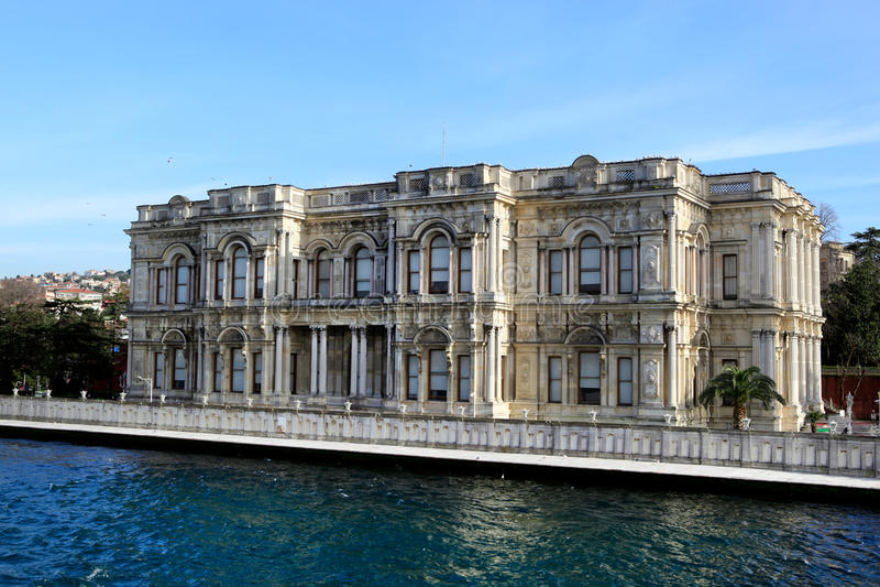 Beylerbeyi Palace stock image