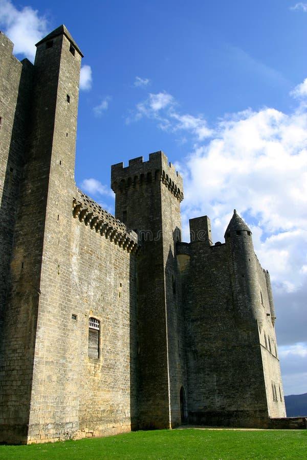 Beynac Castle in Perigord, Dordogne, France