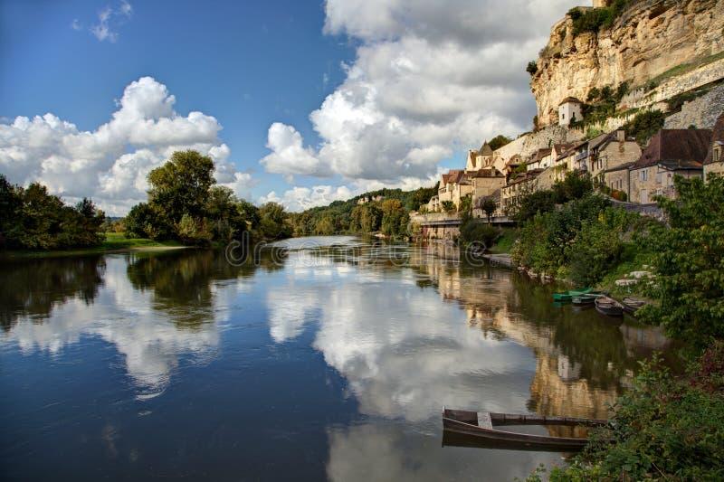Beynac-et-Cazenac - Dordogne - Frances image libre de droits