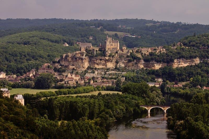Download Beynac, France stock image. Image of feudal, europe, holidays - 1199515
