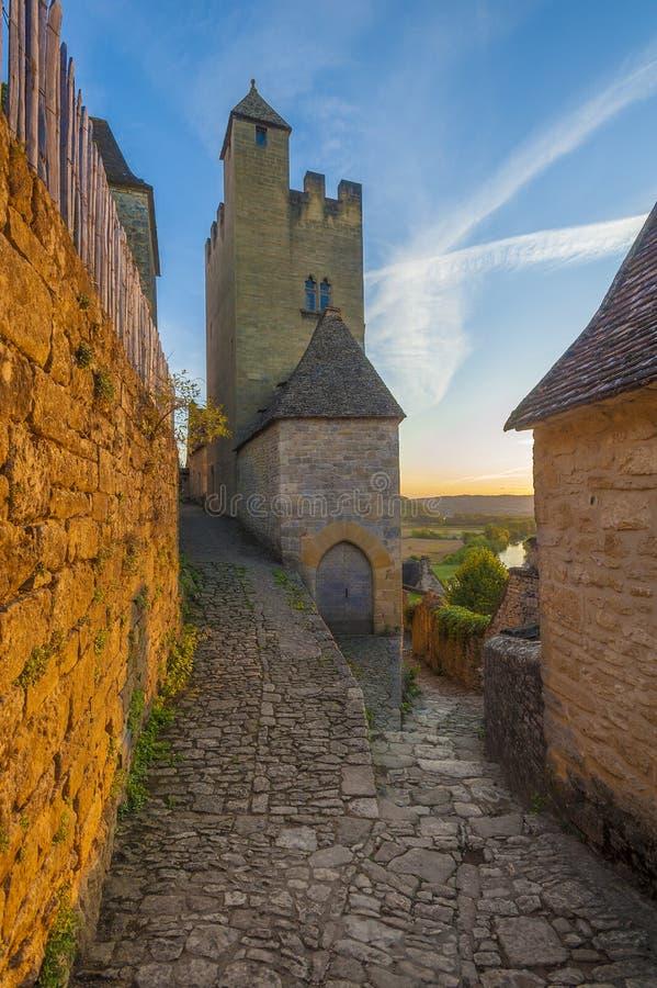Beynac slott eller chateau