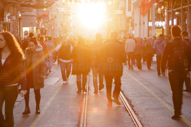 Beyoglu,Istanbul stock photo