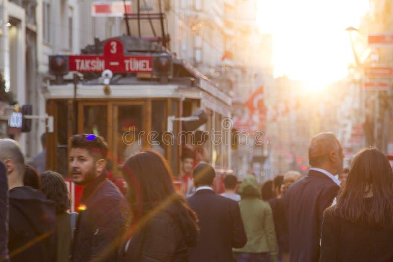 Beyoglu,Istanbul royalty free stock photography