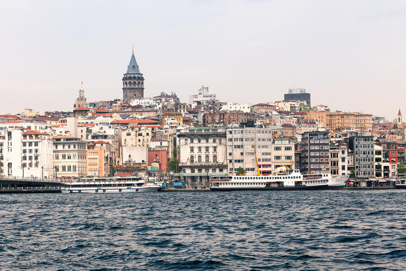 Download Beyoglu okręg Istanbul zdjęcie editorial. Obraz złożonej z widok - 53781201
