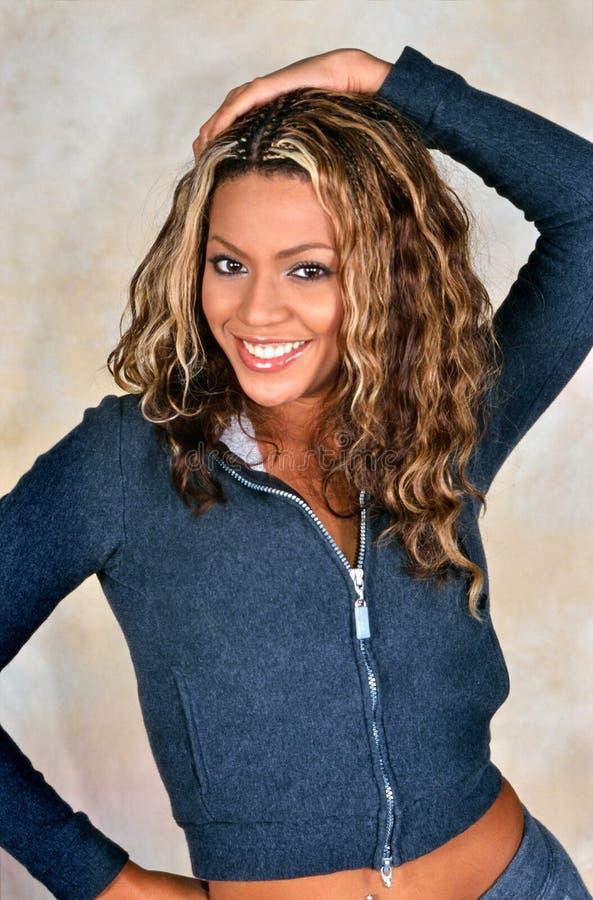 Beyoncé Knowles av ödes barn fotografering för bildbyråer