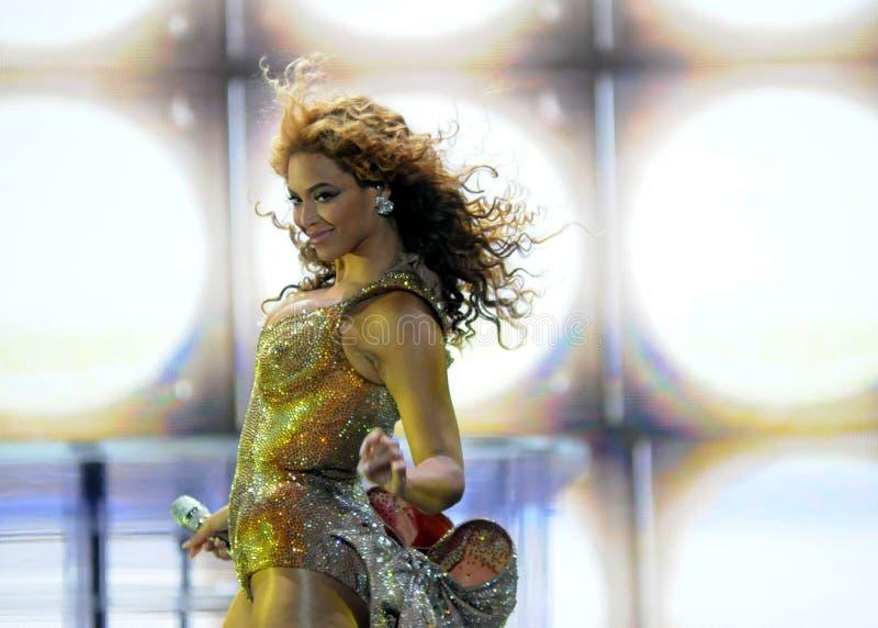 Beyonce foto de archivo