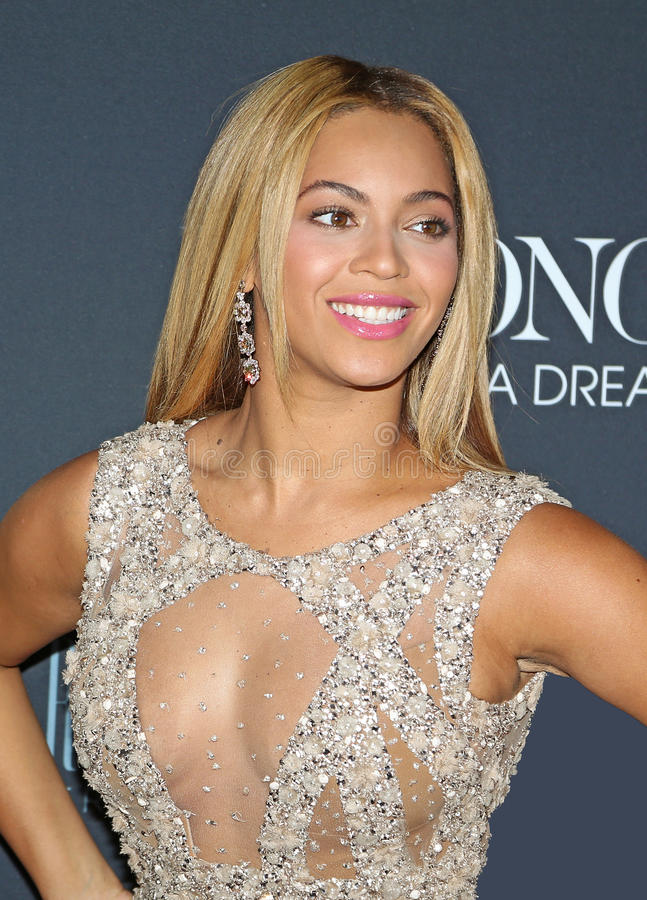 Beyonce royalty free stock images