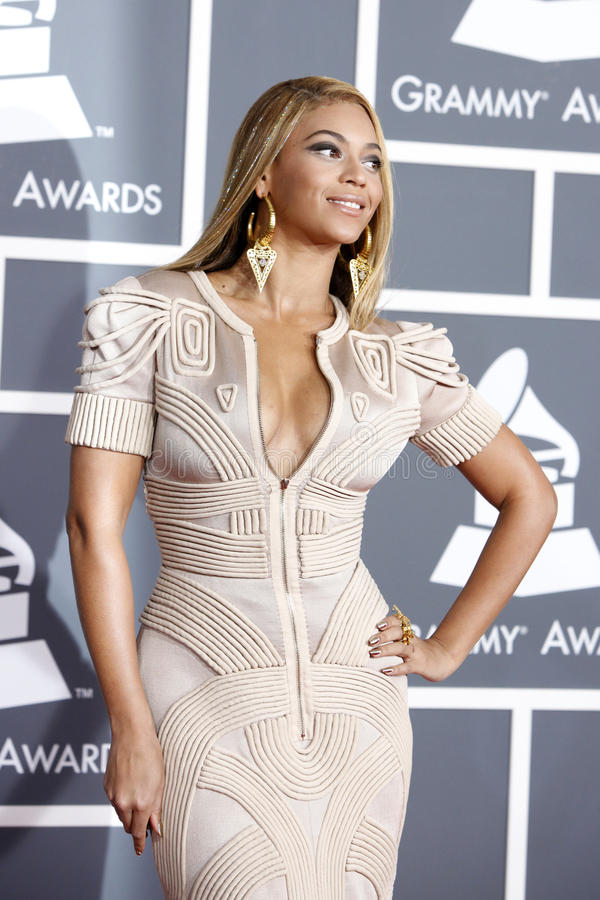 Beyonce imagem de stock