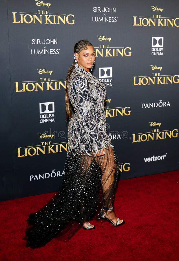 Beyonce fotografia stock libera da diritti