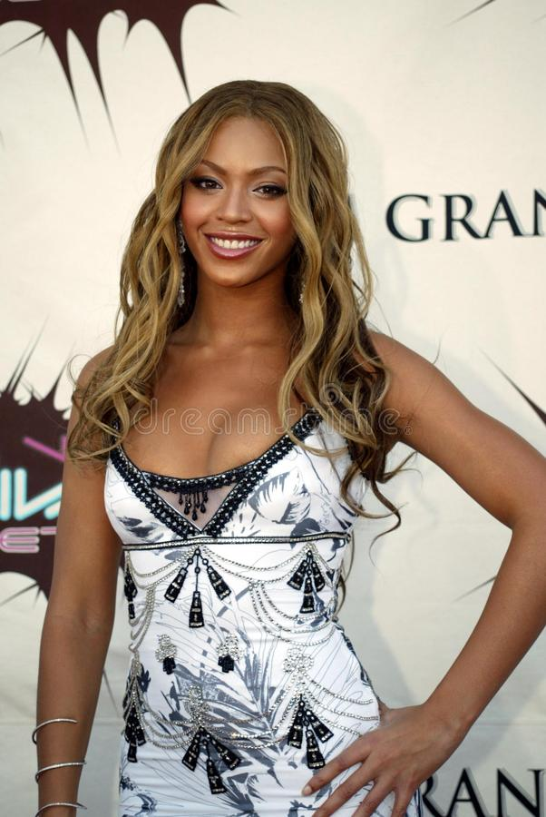 Beyonce Knowles стоковая фотография