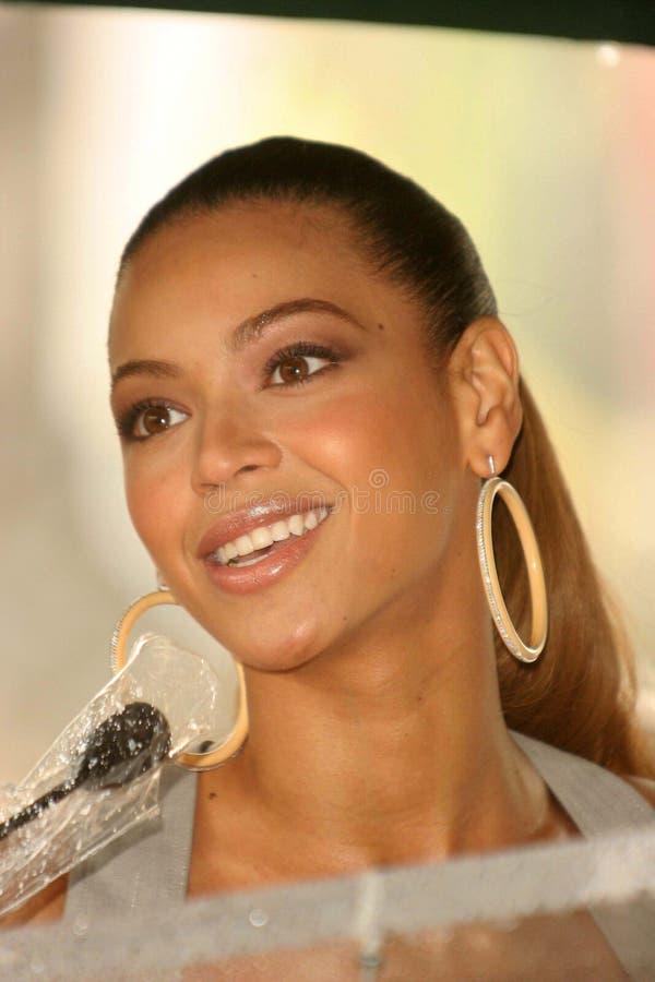 Beyonce Knowles fotografia stock libera da diritti