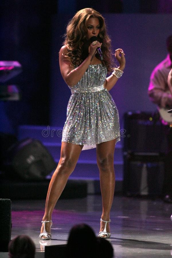 Beyonce Knowles immagini stock