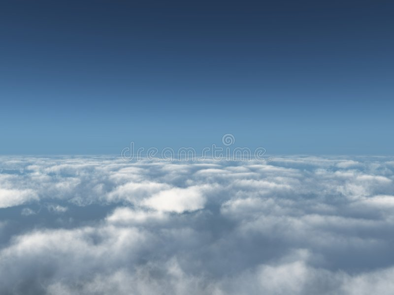 Download Beyond clouds stock image. Image of scenic, space, cloud - 6395901