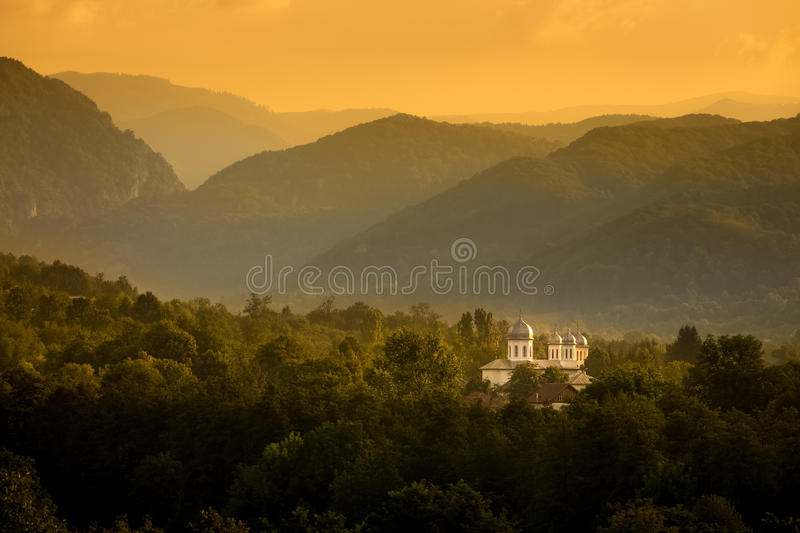 Beyond the Hills royalty free stock photography