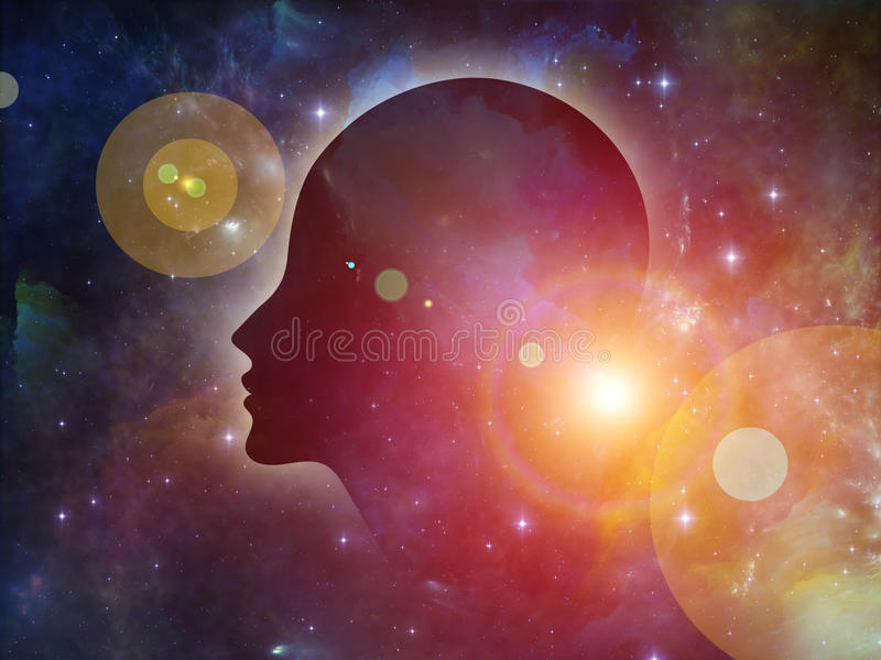 Beyond the Mind vector illustration