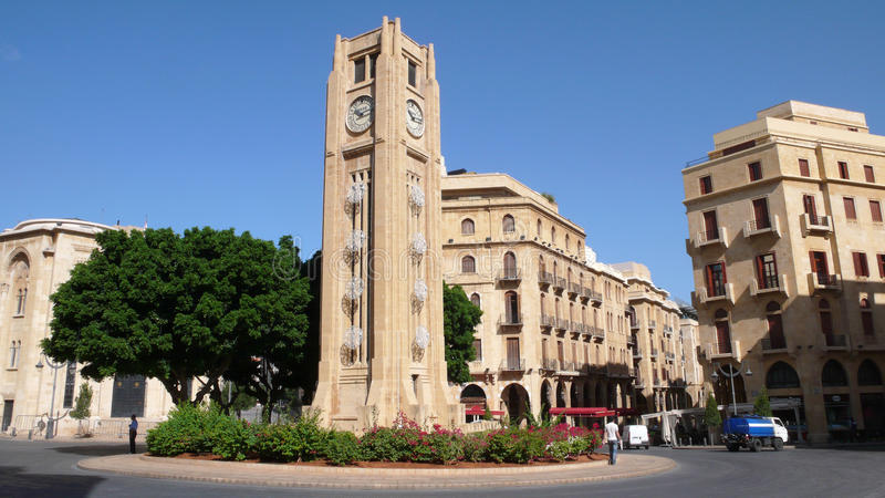 Beyrouth du centre. Liban photo stock