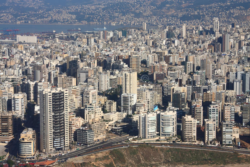 Beyrouth, Liban image stock