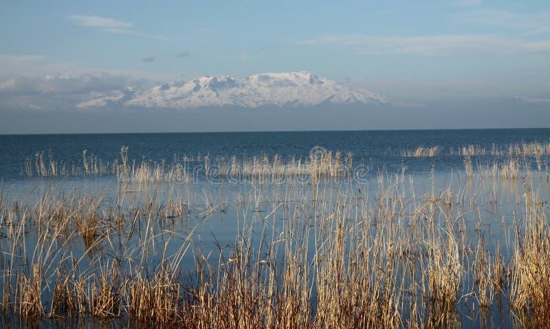 beysehir jezioro zdjęcie royalty free