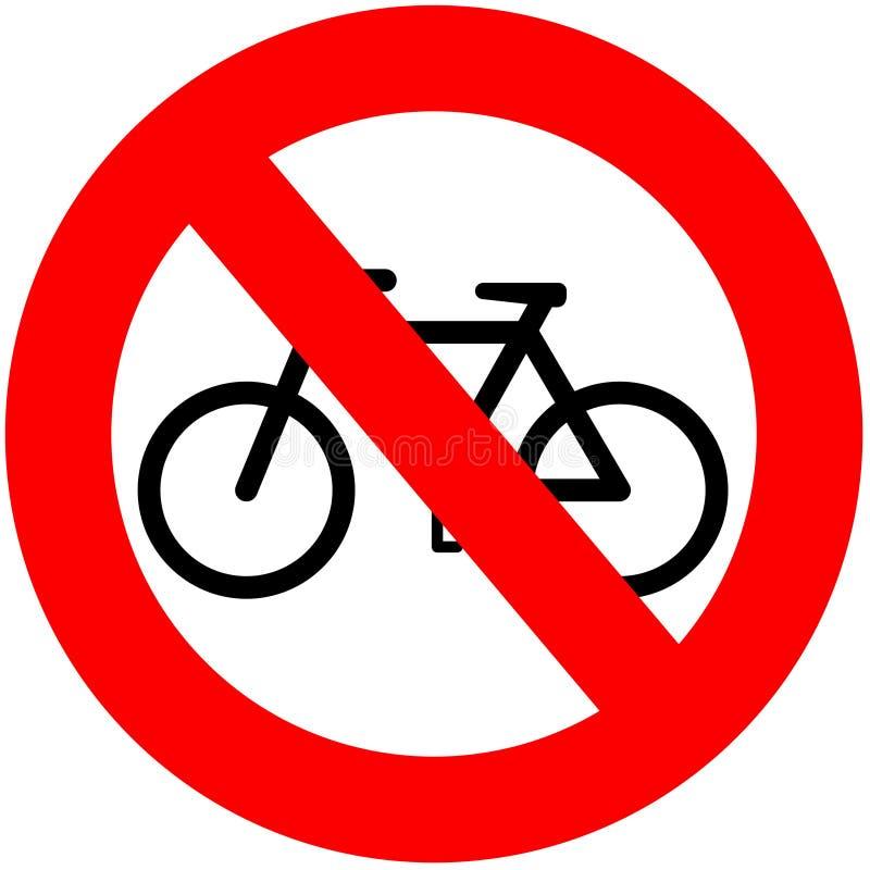 bez rowerów royalty ilustracja