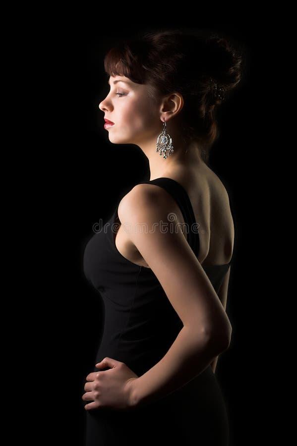 Bezaubernde Frau lizenzfreies stockfoto