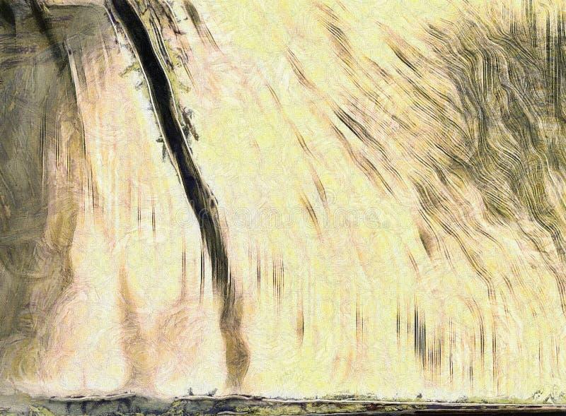 Bezbarwny abstrakt ilustracji