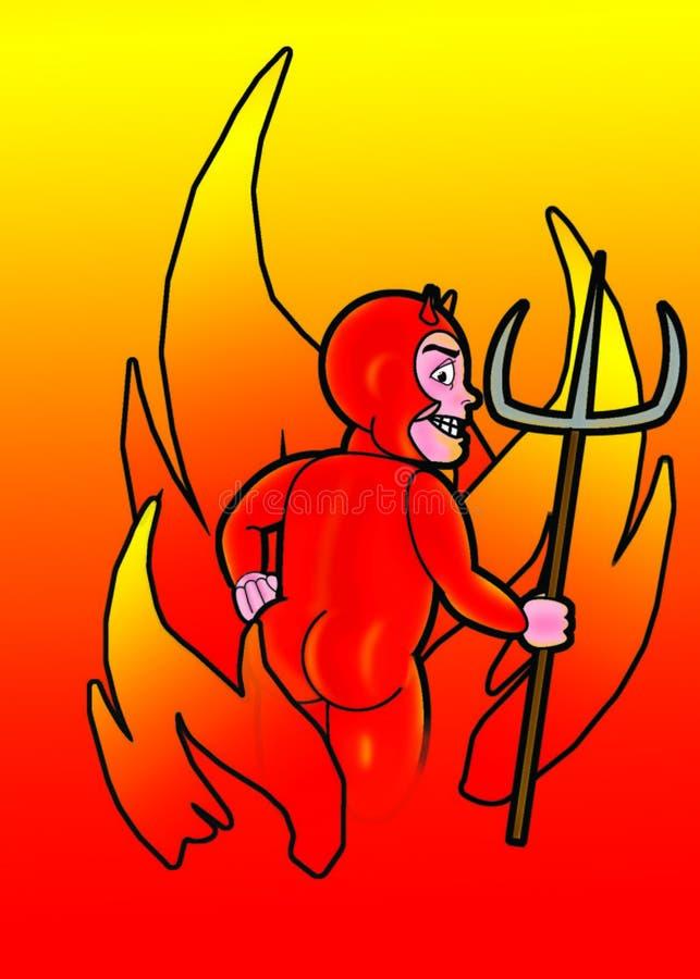 bezczelny gorąco ilustracja wektor