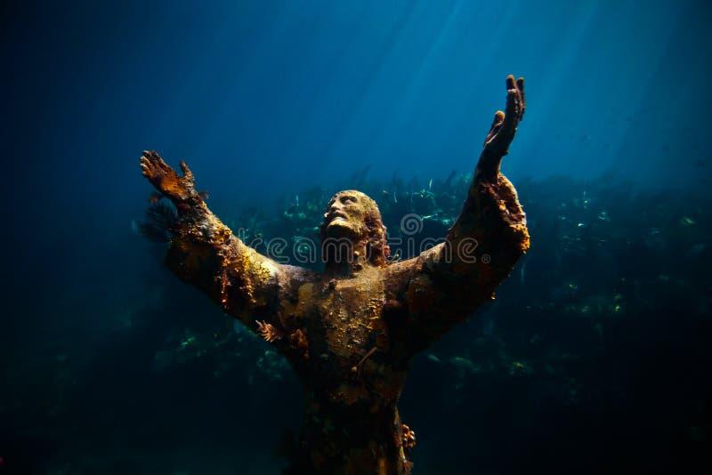 bezdenność Christ zdjęcie royalty free