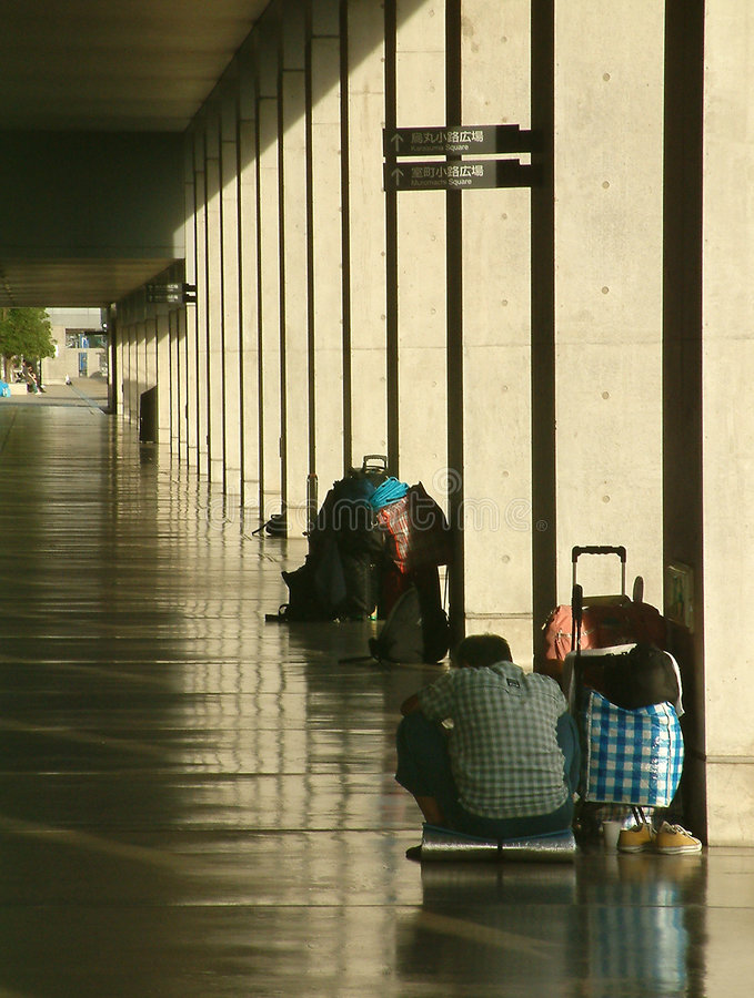 Download Bezdomni zdjęcie stock. Obraz złożonej z bezdomny, rozkaz - 45970