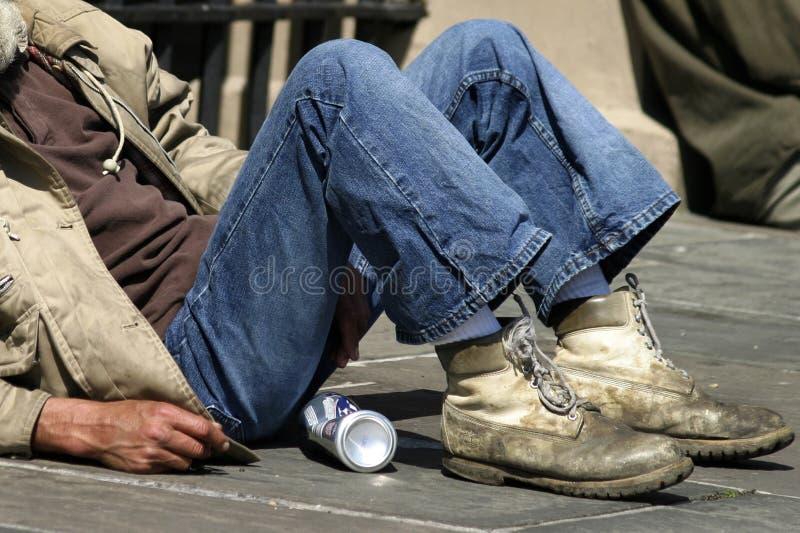 bezdomni obraz stock