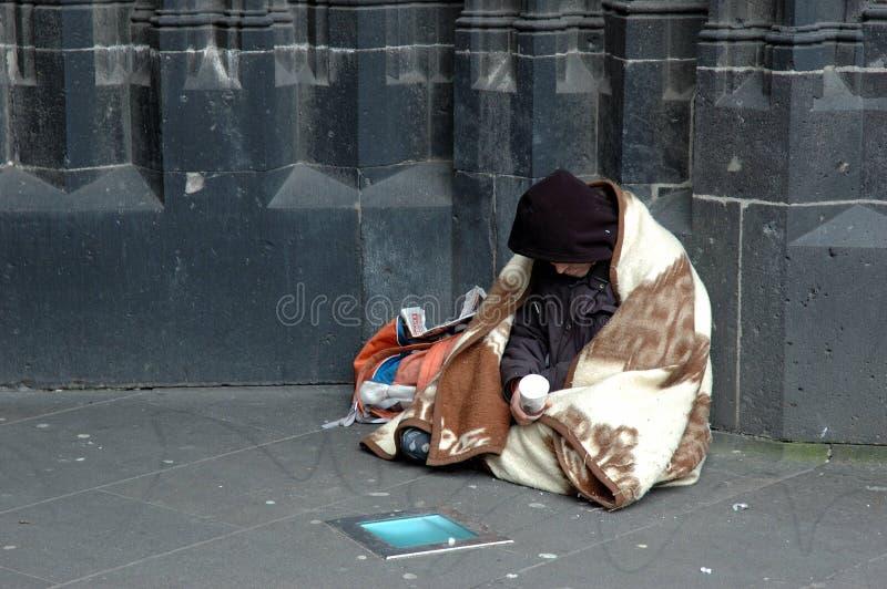 bezdomni zdjęcie royalty free