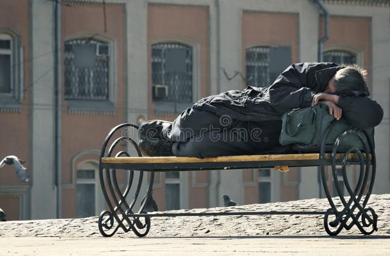 bezdomni zdjęcie stock