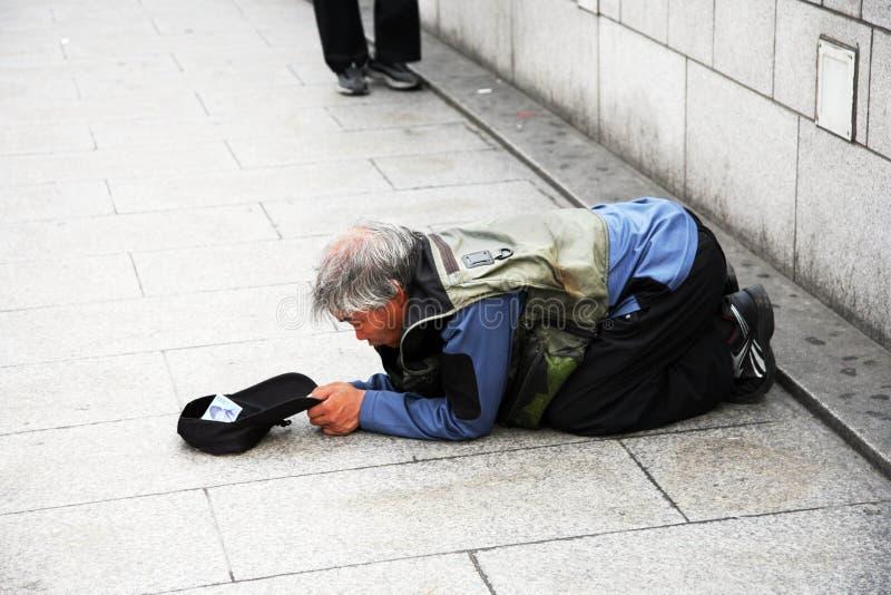 bezdomny zdjęcie royalty free