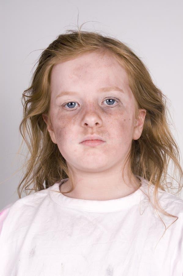 bezdomny dzieciak fotografia royalty free