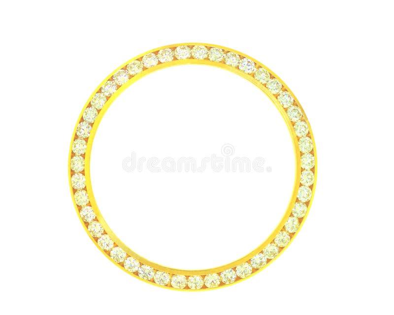 bezel διαμάντι στοκ φωτογραφία με δικαίωμα ελεύθερης χρήσης