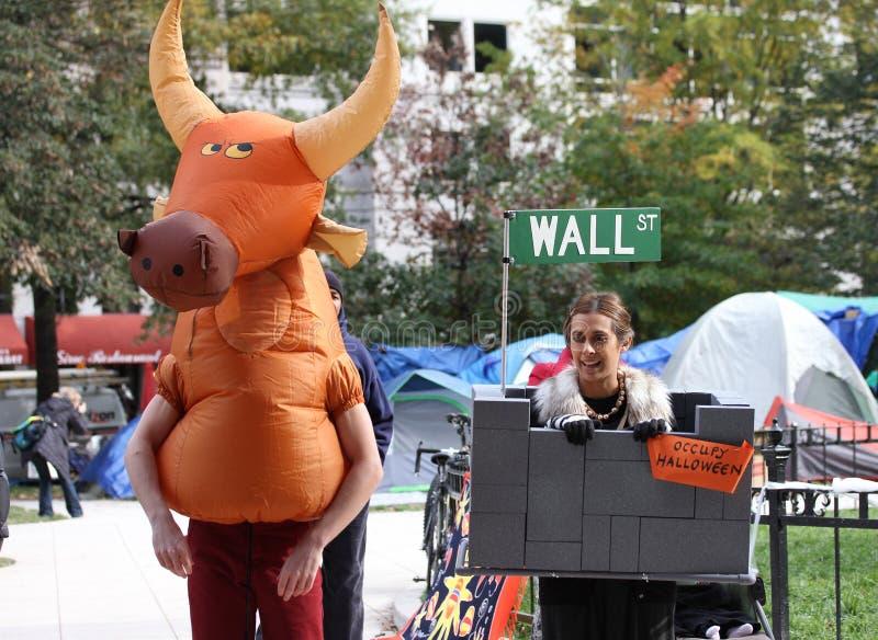 Bezet Halloween royalty-vrije stock afbeeldingen